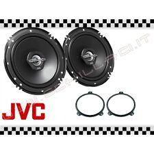 Coppia casse JVC + supporti BMW serie 3 E46 16,5cm altoparlanti