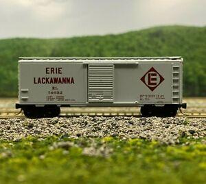 N Scale - MTL 20360 Erie Lackawanna 40' Single Door Boxcar EL 74632 N3955