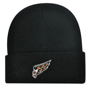 BEANIE KNIT HAT CAP NEW WASHINGTON CAPITALS BLACK TOQUE