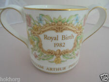 RARE WEDGWOOD TWO HANDLED LOVING CUP BIRTH OF PRINCE WILLIAM 1982 LTD 1000 ROYAL