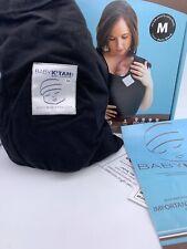 Baby K'tan ORIGINAL Cotton Wrap style Baby Carrier Child Sling, BLACK, Medium