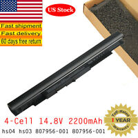 Lot BATTERY HS03 for HP NOTEBOOK 15-AC121DX 15-A SERIES NOTEBOOK 807956-001