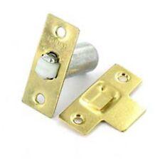 ADJUSTABLE ROLLER CATCH Internal Door Latch Spring Ball Mortice + Fixings BRASS