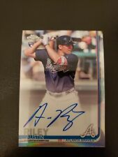 New Listing2019 Topps Chrome Refractor Austin Riley Rc Autograph Auto 458/499 Braves