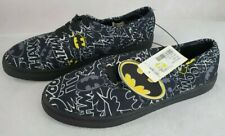 Batman Bioworld DC Comics Canvas Lace Up Shoes  Size 9 Mens
