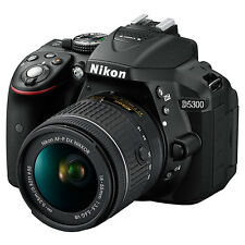 "Nikon D5300 Digital SLR Camera HD 1080P 24.2MP Wi-Fi 3.2"" Screen (267375)"