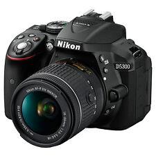 """Nikon D5300 Digital SLR Camera HD 1080P 24.2MP Wi-Fi 3.2"""" Screen (ML1496)"""