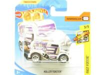 Hotwheels Roller Toaster Fast Foodie Chrome Short Card 1 64 Scale Sealed New