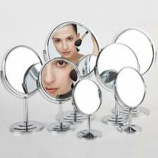 Table Standing Dresser Double Sided Magnification Makeup Mirror 4 Inches CA