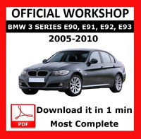 >> OFFICIAL WORKSHOP Manual Service Repair BMW Series 3 E90 2005 - 2010