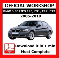 OFFICIAL WORKSHOP Manual Service Repair BMW Series 3 E90 2005 - 2010