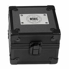MWC Logo Metal + High Impact Polycarbonate Protective Watch Military Travel Box