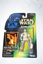 Kenner 1997 Star Wars POTF Hoth Rebel Soldier Hologram Green Card NEW Figure