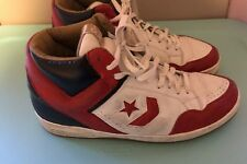 5f307918873 Converse Weapons Sneakers Red Larry Bird Magic Johnson Vintage Size 15