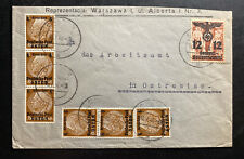 1940 Opatow GG Germany Commercial Cover To Ostrowiec