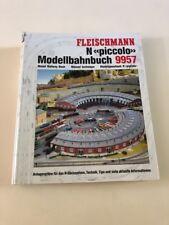 Fleischmann N >Piccolo< 9957 Track N, Model Train Book/ Guide/ Track Plan Book.