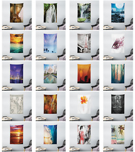 Wall Decor Fabric Printed Tapestry for Bedroom Dorm Living Room by Ambesonne