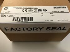 ALLEN BRADLEY 1734-AENTR POINT I/O DUAL PORT NETWORK ADAPTOR