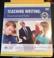 IEW teaching writing structure and style (2nd Edition) Dvds And Workbook