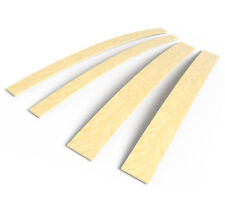 5 cm x 90 cm Birch  Wood Curved Sprung Bed Base Replacement Slats Single King