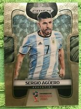 Sergio Aguero 2018 Panini Prizm World Cup Soccer Gold Power 4/5