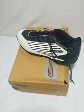 Reebok Mens Pro EJ32 DMX Mid Football Cleats 14 White and black 20-63358 USED