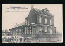 France BLARINGHEM La Marie Boys School + children c1900/10s? PPC