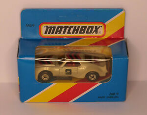 MATCHBOX by Lesney - MB 9 AMX Javelin MADE IN MACAU