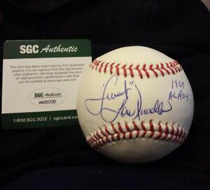 "Lou Piniella Signed Baseball with ""Sweet"" and 1969 ROY Inscriptions SGC COA"