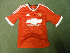 Manchester United Large Boys 176cm Home MEMPHIS 7 Football Shirt