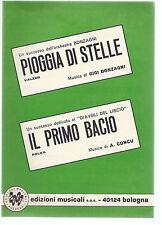 PIOGGIA DI STELLE (Gigi Bonzagni) - IL PRIMO BACIO (A. Concu) # SPARTITO
