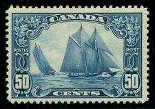 CANADA #158 50¢ Bluenose, og, LH, VF, Scott $225.00