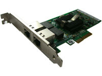 Intel Pro/1000 Dual PORT GIGABIT ETHERNET PCIe NIC Card EXPI9402PT NC360T 82571