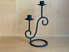 Vintage iron candle holder handmade in India