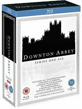 DOWNTON ABBEY COMPLETE SEASON SERIES 1+2+3+4+5+6+all Specials Blu ray Box Set