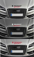 For 'PEUGEOT SPORT' - 1 x BONNET VINYL CAR DECAL STICKER - 206 - 300mm long