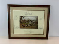 Vintage Frank Paton Etching Print Every Dog Has His Day