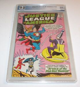 Justice League of America #32 - 1965 Silver Age DC - VF/NM 9.0 (1st Brainstorm)