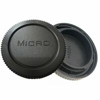 Rear Lens Cover + Camera body Cap fit for Panasonic Micro 4/3 M4/3