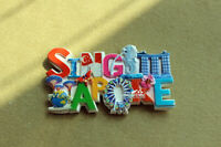 Singapore Tourist Travel Souvenir 3D Resin Decorative Fridge Magnet Craft GIFT