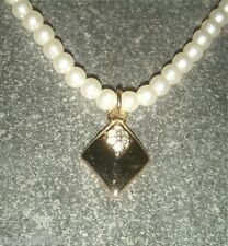 ORNAMENTO DA SPOSA Collana di perle catena matrimonio bianco crema