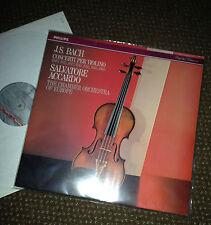 J.S. BACH , SALVATORE ACCARDO  CONCERTI PER VIOLINI CHAMBER ORCHESTRA 2 VINYL LP