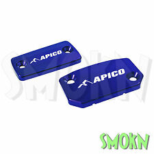 Apico Freno & Embrague Depósito Tapas De Cilindro Maestro KTM 125 200 Exc 09-16 Azul