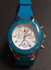 Michele Tahitian Jelly Bean Turquoise Blue Watch