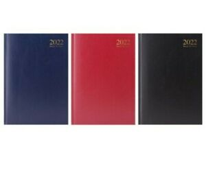 2022 A5 A4 Week to View & Page A Day Hardback Plain Business Office Desk Diary