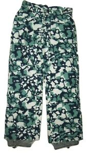 Trespass Ski Pants Blue Camo Waterproof Windproof Breathable Tres-tex Trinivante