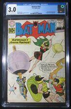 Batman #141 (1961 DC) CGC 3.0...2nd Bat-Girl app...1st Clockmaster app.