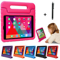 "US Kids Safe Shockproof Case Cover + Stylus Pen For Samsung Tab A E 7"" 8"" Tablet"