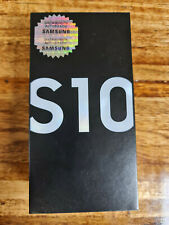 Only Box + Accessories Samsung Galaxy S10 - White *Read*