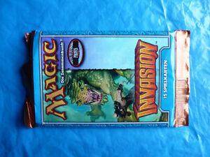 Magic The Gathering - Invasion Booster 1 von 3 deutsch OVP ungeöffnet MTG